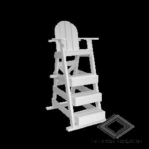 Location de chaise de surveillance en bois