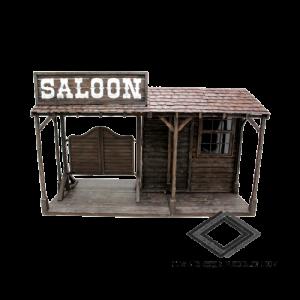 Location de façade saloon