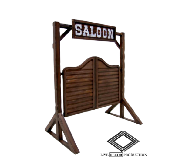 Location porte de saloon western
