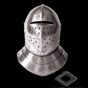 Location de casque médiéval