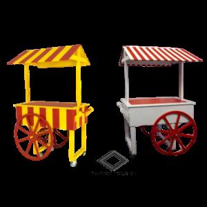 Location de chariot de cirque vintage