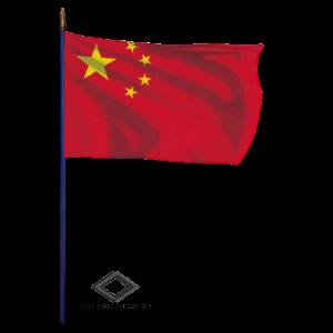 Location de drapeau chinois