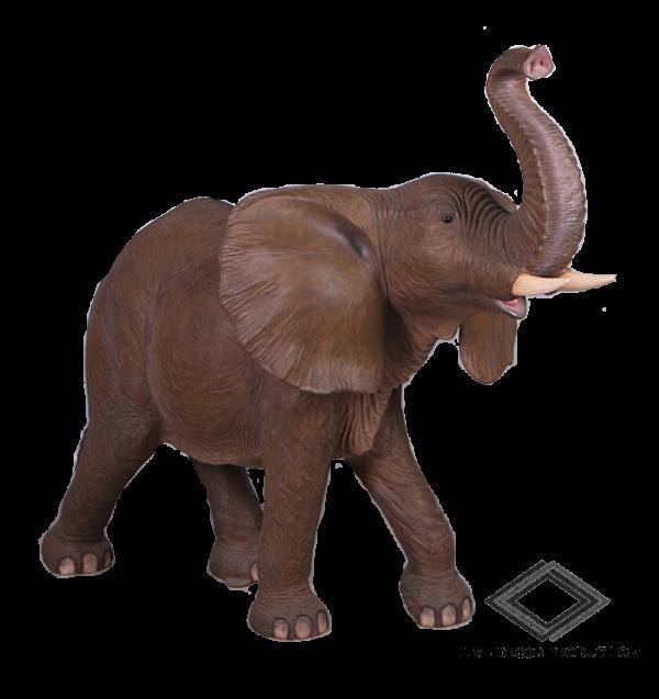 Location d'éléphant en résine