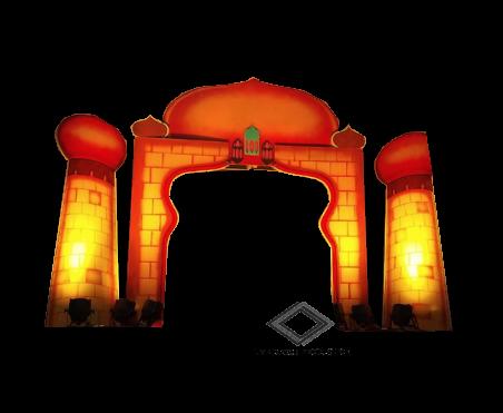Location d'arche orientale