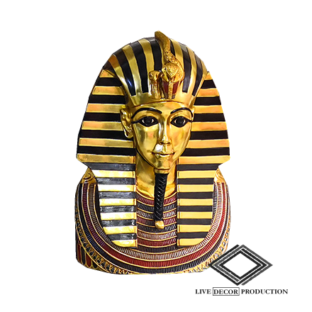 Location de buste de pharaon