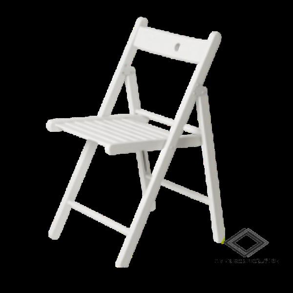 Location de chaise pliante blanche