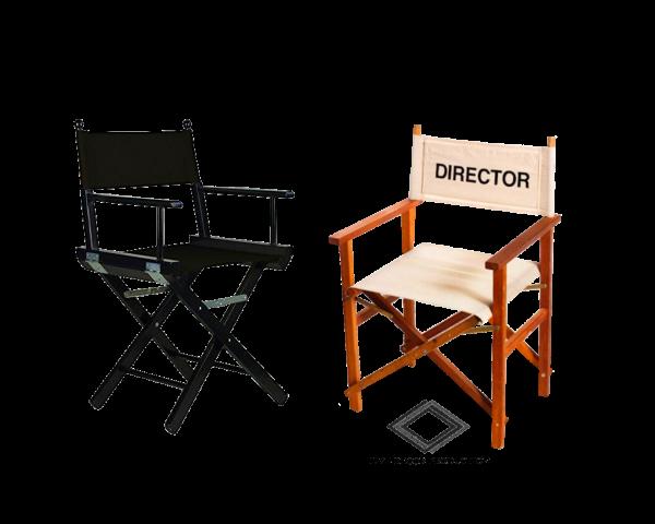 Location de chaises de régisseur en bois