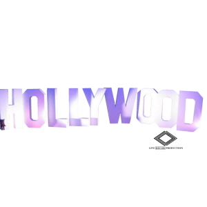 Location de lettres géantes Hollywood