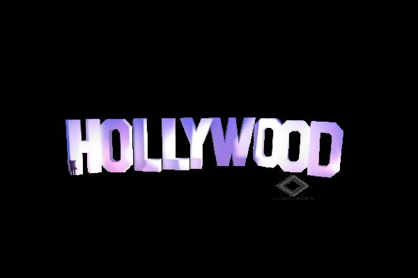 Location de lettrage Hollywood