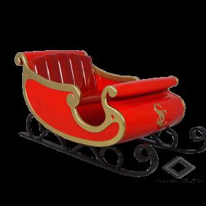 Location de traîneau du père Noël