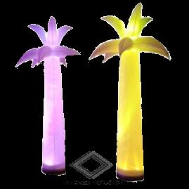 Location de palmier lumineux gonflable