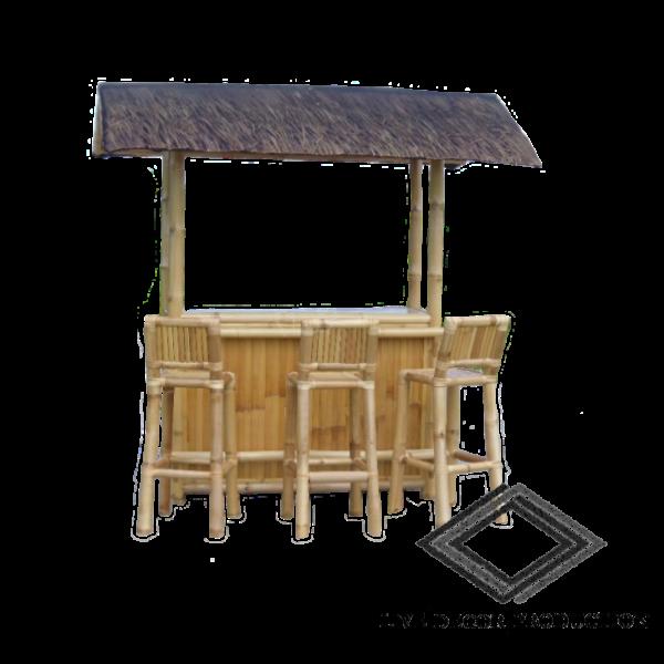 Location de bar en bambou