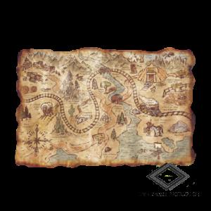 Location de carte au trésor
