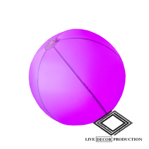 Location de boule lumineuse gonflable