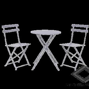 Location de chaises et table style guinguette