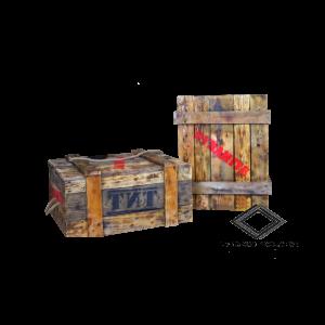 Location de caisse dynamite bois 70*50 cm