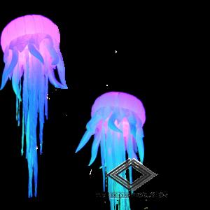 Location de méduse gonflable lumineuse
